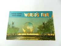 VINTAGE POSTCARD NEW YORK WORLDS FAIR 1964-1965 THE UNISPHERE NIGHT SCENE