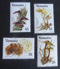 Vanuatu 1984 Fungi Mushrooms SG377/80 MNH UM unmounted mint
