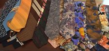 Large Lot of 25 Men's Craft / Hobby or Wear Ties - Nice Eclectic Mix-Take a L@@K