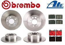 For Volvo 240 242 244 245 Best Value Full Disc Brake KIT Rotors Pads Brembo ATE