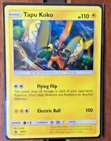 Pokemon Card    TAPU KOKO   Ultra Rare  SM31  SUN and MOON  PROMO ***MINT***