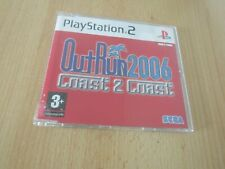 OUTRUN 2006 Coast to Coast Playstation 2 promo copy