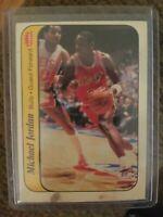 1986 - 1987 Fleer Stickers Michael Jordan Chicago Bulls #8 Basketball Card