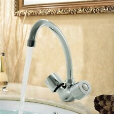 Robinet melangeur de lavabo en laiton chrome avec bec mobile