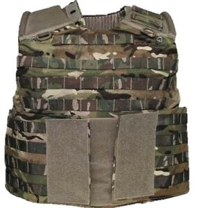BRITISH ARMY MTP VEST OSPREY MK4 ARMOUR PLATE CARRIER PAINTBALLING