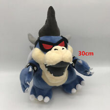"12"" Super Mario BOSS Dark devil Bowser Koopa Plush Toy Stuffed Animal Doll Gift"