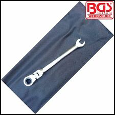 BGS - 11 mm Trinquete Flexi Cabeza Llave Combi-Disco de 72 DIENTES-Pro - 30002-11