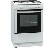ESSENTIALS CFSG60W17 60 cm Gas Cooker - White LPG Convertible
