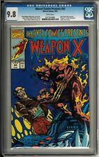 Marvel Comics Presents #83 (1991) CGC 9.8 Wolverine Weapon X Barry Windsor Smith