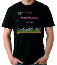 Camiseta Hombre Ghosts'n Goblins Arcade 80's game juego t-shirt mana corta
