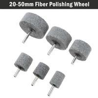 6mm Shank Fiber Buffing Grinding Wheel Abrasive Polishing Metal Furniture Craft