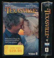 Nelson Video 8mm Cassette Texasville 1990 Bogdanovich McMurtry Small Town Drama