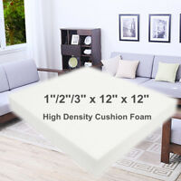 12'' Square High Density Seat Foam Cushion Sheet Upholstery Replacement Pad