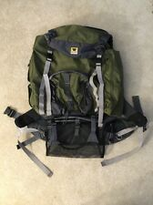 Mountainsmith Scout Youth External Frame Backpack Green Gray