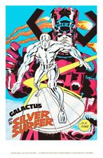 Marvelmania 24 x 36 Reproduction Character Poster GALACTUS and The Silver Surfer