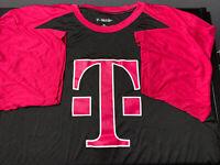 T- Mobile New Employee Tee T Shirt Uniform Men's Black Short  Sleeve XL