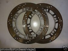 KAWASAKI GPX 750 R 1989 1990 1991:BRAKE DISCS - FRONT:USED MOTORCYCLE PARTS