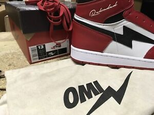 DS MENS RELOADED MERCH AIR OMI CHICAGO LIKE KIY SZ 13 ATHENTIC RELEASE