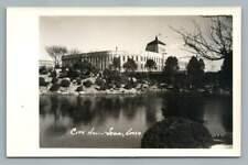 City Hall SEOUL Korea RPPC Vintage Photo Postcard 1940s