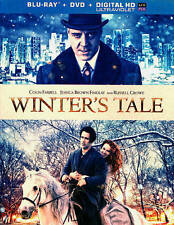 Winter's Tale  2013   Blu-ray+DVD  2015 by Warner Manufacturing . EXLIBRARY