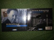 CD ARTHUR  RUBINSTEN CHOPIN  FRIDERYK CHOPIN 1810 - 1849 RARE
