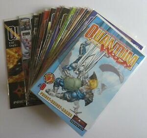 Quantum and Woody #1-32 Complete Set VF/NM Includes #0 Valiant Acclaim Comics