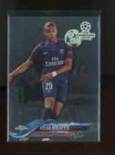 2017 Topps Chrome Champions League #41 Kylian Mbappe RC Rookie
