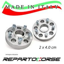 KIT 2 DISTANZIALI 40MM REPARTOCORSE - SMART FORTWO BRABUS 450 451 -MADE IN ITALY