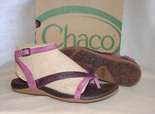 CHACO SOFIA GLADIATOR THONG Sandals  Womens 8  NIB  Violet