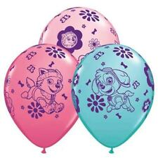 10 PC Pink Paw Patrol Girl Party Supplies Latex Balloons (10) FREE SHIPPING