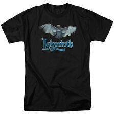 Labyrinth Snow Owl Title Sequence Jim Henson Movie T-Shirt Tee