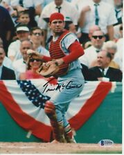 TIM MCCARVER SIGNED 8X10 ST LOUIS CARDINALS PHOTO BECKETT CERTIFIED #0