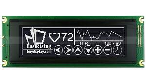 Black 240x64 Graphic LCD Display Module LCM w/RA6963,T6963 Controller w/Tutorial