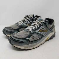 Brooks Mens Running Shoes Gray Lace Up Low Top Breathable Sneakers 11 D