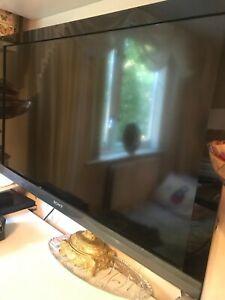 SONY 46 inch flat screen TV