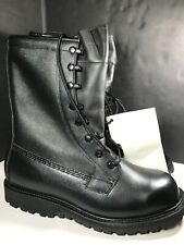 Military Waterproof Goretex ICW Work Boots 8.5  WideUS ARMY GI Black Leather NEW