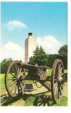 GETTYSBURG PA Eternal Light Peace Memorial Cannon Vtg