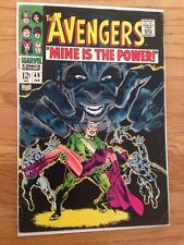 The Avengers #49 F+ 6.5 Magneto Quicksilver Scarlet Witch Story Marvel Comic Key