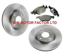 FIAT PUNTO MK2 1.9 JTD DIESEL (99-04) FRONT BRAKE DISCS AND PADS SET