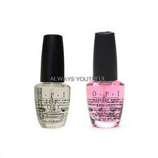 OPI NAIL POLISH Base & Clear Top Coat Set 2 x 15mls