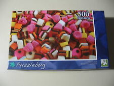 500 pc Puzzle, Puzzlebug: Licorice Candy, Brand New & Sealed