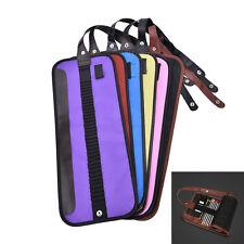 Canvas Wrap Roll up Pencil Case Pen Bag Holder Storage Pouch For 30pcs PenRSEX
