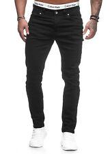 Jeanshose Jeans Hose Slim Fit Basic Stretch Herren Designer W28-W36