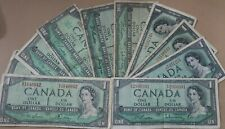 1967 $1 One Dollar Canadian Note Bill