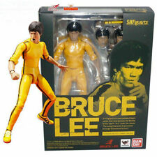 """6"""" Bruce Lee Yellow Track Suit Action Figure Toy Doll Bandai Kid Gift Mova 00004000 ble"""