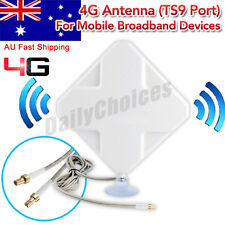 35dBi 3G 4G LTE Dual MIMO ZTE MF910 MF90C MF75 MF823 Antenna TS9 plug& 2m Cable