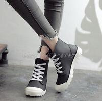 Casual Damen Stiefel Ankle Rain Boots Kurzer Stiefeletten Regenstiefel Teenager