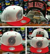 NBA Portland Trail Blazer Mitchell and Ness Snapback Hat