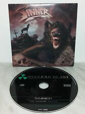 CD SINNER - THE NATURE OF EVIL - CARDSLEEVE - PROMO