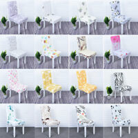 Spandex Elastic Slipcover Stretch Removable Dining Chair Cover Banquet Decor New